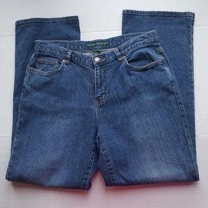 Lauren Jeans (Ralph Lauren) bootcut jeans size 10